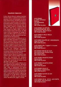 Alfa Romeo 1910-2010 - Maurizio Tabucchi - 3