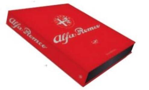 Alfa Romeo. The Official Book. Centenary Edition. Ediz. illustrata - copertina