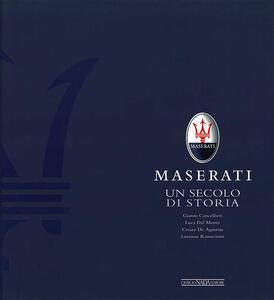 Maserati. Un secolo di storia - copertina
