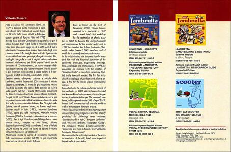 Lambretta. Guida illustrata all'identificazione. Ediz. italiana e inglese - Vittorio Tessera - 2
