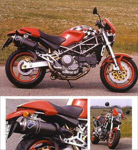 Ducati Monster. 20th anniversary. Ediz. italiana e inglese - Claudio Porrozzi,Otto Grizzi,Fabrizio Porrozzi - 2