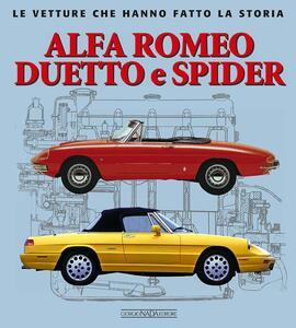 Alfa Romeo Duetto e Spider - Giancarlo Catarsi - copertina
