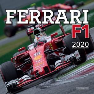 F1 2020 Calendario Rai.Ferrari F1 Calendario 2020 Libro Nada Ibs
