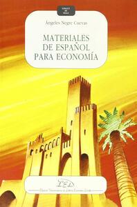 Materiales de español para economía