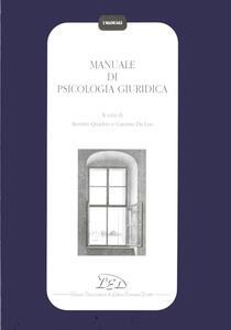 Manuale di psicologia giuridica - copertina