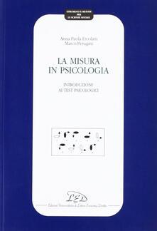 Filippodegasperi.it La misura in psicologia. Introduzione ai test psicologici Image