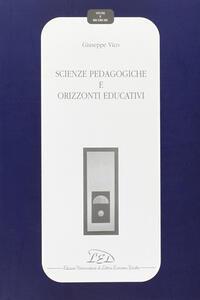 Scienze pedagogiche e orizzonti educativi - Giuseppe Vico - copertina