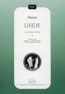 Platone. Liside. Vol. 1 - copertina