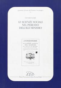 Le scienze sociali nel periodo dell'illuminismo