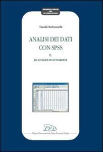 Analisi dei dati con SPSS II. Le analisi multivariate - Claudio Barbaranelli - copertina