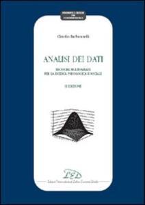 Analisi dei dati. Un'introduzione per le scienze psicologiche e sociali - Claudio Barbaranelli - copertina