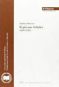 Il giovane Scheler (1899-1906)