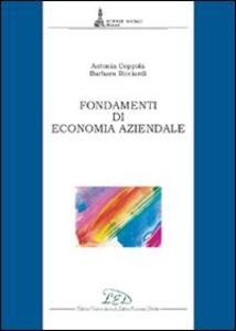 Fondamenti di economia aziendale - Antonia Coppola,Barbara Ricciardi - copertina