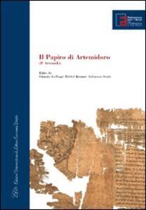 Il papiro di Artemidoro. Con DVD - copertina