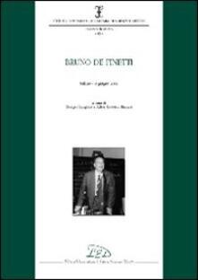Bruno De Finetti (Milano, 8 giugno 2006) - copertina
