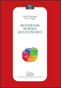 Multimodal business and economics - Sandra Campagna,Cecilia Boggio - copertina