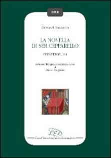 La novella di ser Cepparello (Decameron, I 1) - Giovanni Boccaccio - copertina