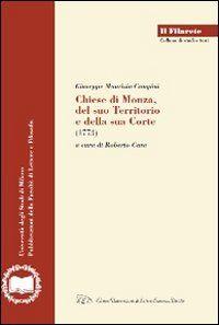 Chiese di Monza, del suo territorio e della sua Corte 1773