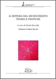 Il sistema del microcredito. Teoria e pratiche - copertina