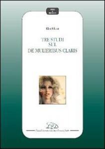 Tre studi sul «De mulieribus claris»