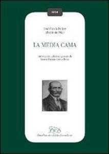 La media cama - José García Peláez - copertina