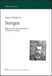 Songes - Francis Poictevin - copertina