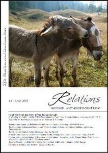 Relations. Beyond anthropocentrism (2013). Vol. 1: Inside the emotional lives of non-human animals. - copertina