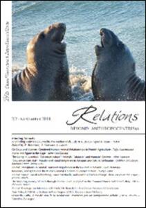 Relations. Beyond anthropocentrism (2014). Vol. 2: Minding animals part 2.
