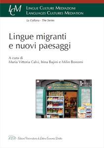Lingue, migranti e nuovi paesaggi - copertina
