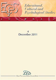 Journal of educational, cultural and psychological studies (ECPS Journal) (2011). Ediz. italiana e inglese. Vol. 4 - copertina