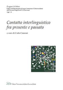 Contatto interlinguistico fra presente e passato - copertina