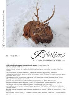 Relations. Beyond Anthropocentrism, 3.1 - June 2015