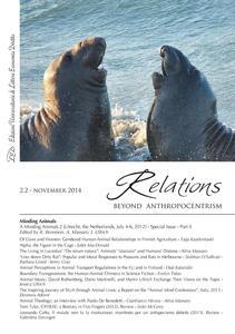 Relations. Beyond anthropocentrism (2014). Vol. 2