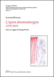 Luciano Paesani. L'opera drammaturgica (1970-2015) - copertina