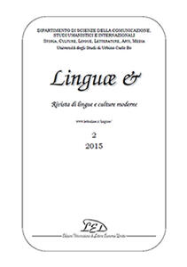 Linguae &. Rivista di lingue e culture moderne (2015). Ediz. italiana, inglese e spagnola. Vol. 2 - copertina