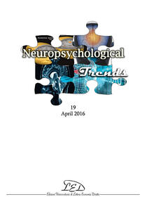 Neuropsychological Trends (2016). Vol. 19 - copertina