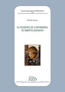 Camfeed.it La nozione di universitas in diritto romano Image