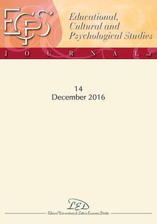 Osteriacasadimare.it Journal of educational, cultural and psychological studies (ECPS Journal). Ediz. italiana e inglese (2016). Vol. 14 Image