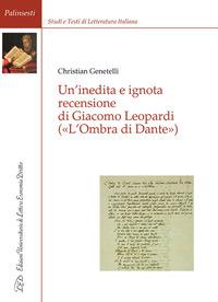 Un' Un' inedita e ignota recensione di Giacomo Leopardi («L'ombra di Dante») - Genetelli Christian - wuz.it