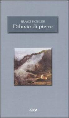 Diluvio di pietre - Franz Hohler - copertina