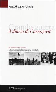 Il diario di Carnojevic - Milos Crnjanski - copertina