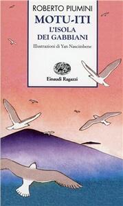 Motu-iti, l'isola dei gabbiani - Roberto Piumini - copertina