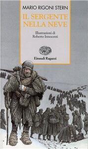 Il sergente nella neve - Mario Rigoni Stern - copertina