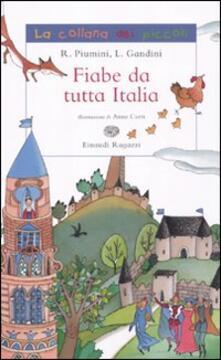 Fiabe da tutta Italia - Roberto Piumini - copertina
