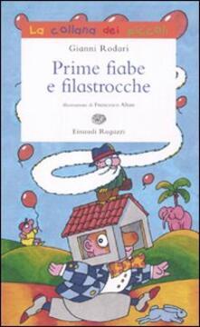 Prime fiabe e filastrocche - Gianni Rodari - copertina