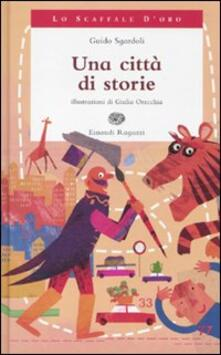 Una città di storie - Guido Sgardoli - copertina