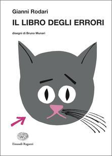 Il libro degli errori - Gianni Rodari - copertina