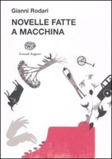 Novelle fatte a macchina - Gianni Rodari - copertina