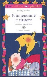 Ninnenanne e tiritere - Lella Gandini - copertina
