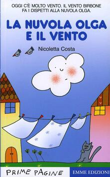 La nuvola Olga e il vento - Nicoletta Costa - copertina